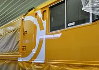 Paint Stencils, signage, logos, self-adhesive vinyl, etching, Rolling stock, decals, Liveries
